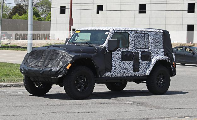 L.A. Look: New Jeep Wrangler Reportedly Will Debut at Los Angeles Auto Show