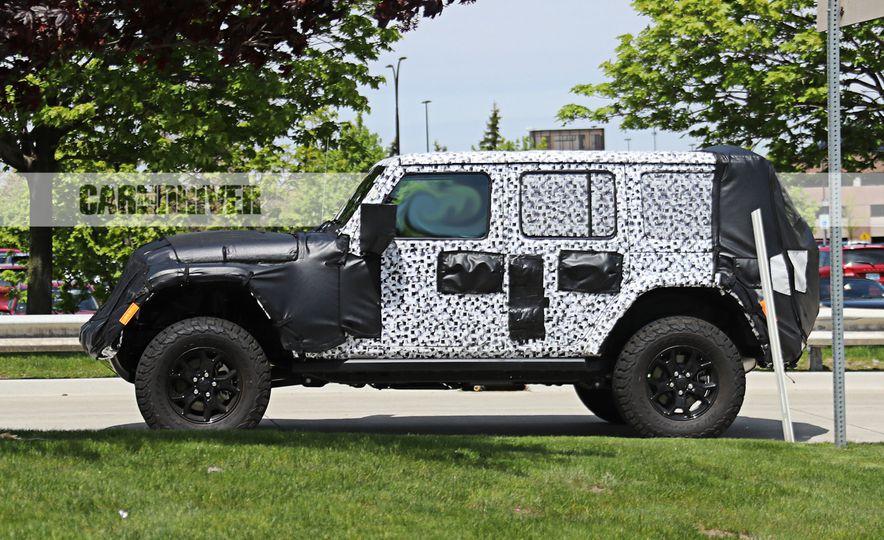 2018 Jeep Wrangler (spy photo) - Slide 5