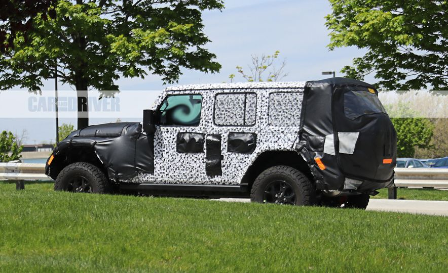 2018 Jeep Wrangler (spy photo) - Slide 7