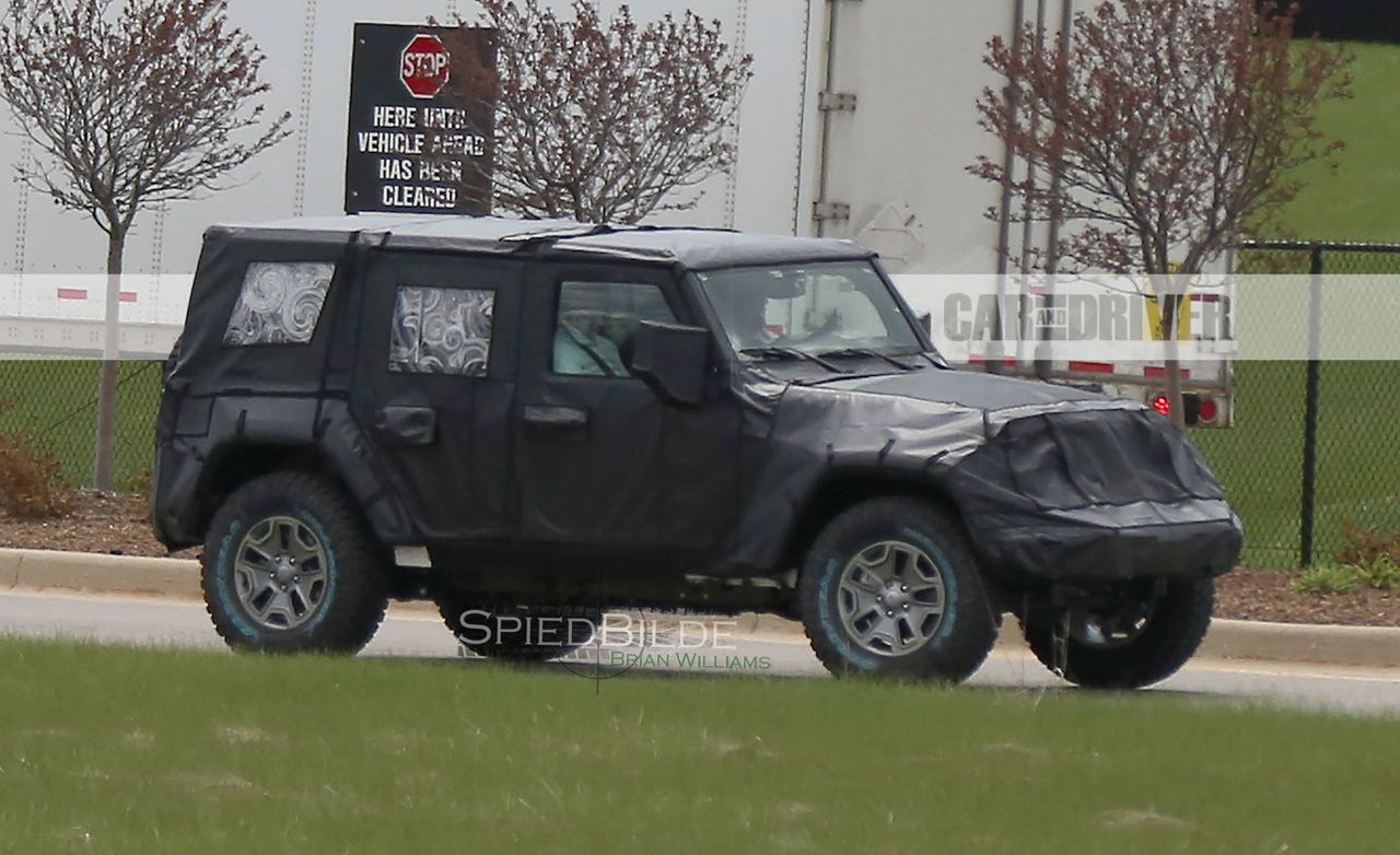 2018 jeep wrangler images. delighful 2018 2018 jeep wrangler spy photo to jeep wrangler images