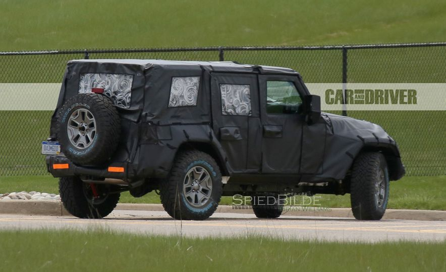 2018 Jeep Wrangler (spy photo) - Slide 20