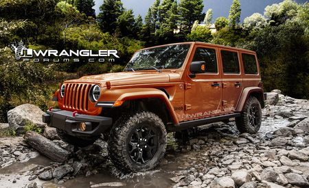 Get a First, Surreptitious Look at the Production 2018 Jeep Wrangler!