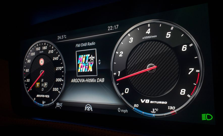 2018 Mercedes-AMG S63 - Slide 51