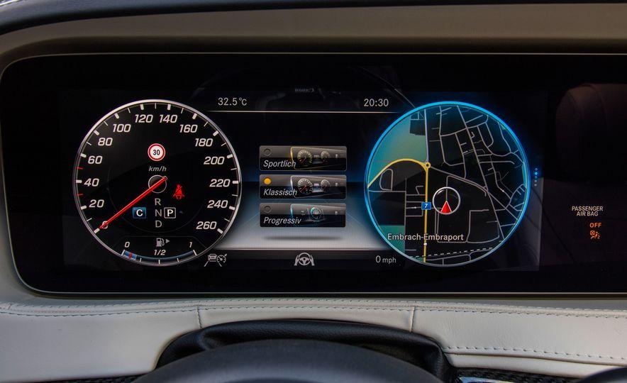 2018 Mercedes-AMG S63 - Slide 89