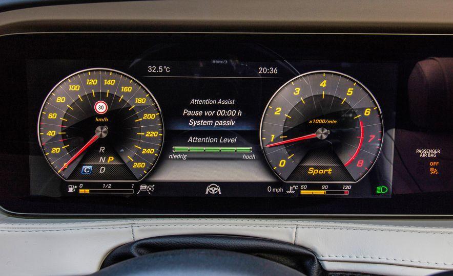 2018 Mercedes-AMG S63 - Slide 91