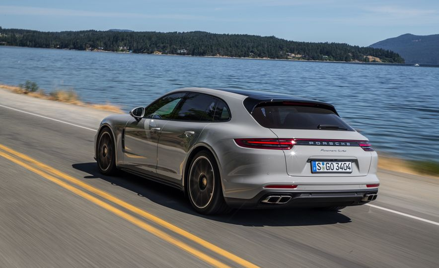 2018 Porsche Panamera Sport Turismo - Slide 51