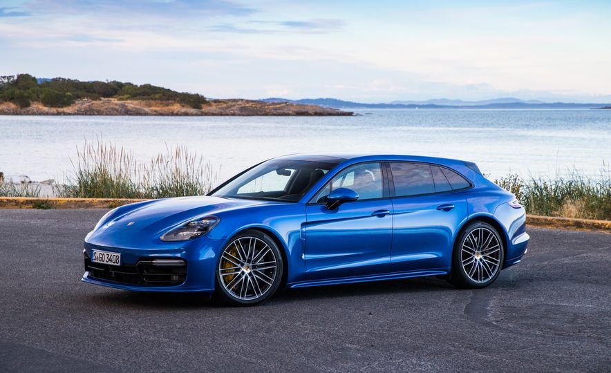 2018 Porsche Panamera Sport Turismo - Slide 77