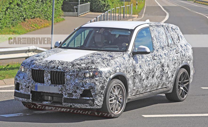 2019 BMW X5 M (spy photo) - Slide 1