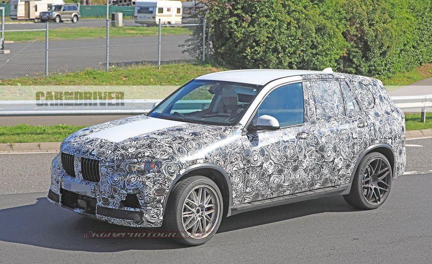 2019 BMW X5 M (spy photo) - Slide 3