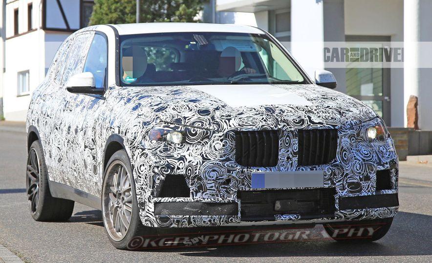 2019 BMW X5 M (spy photo) - Slide 6