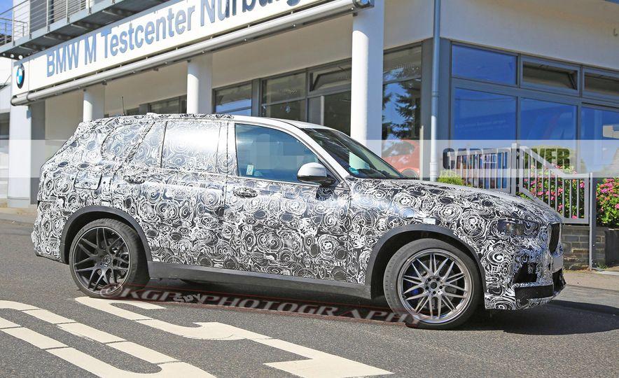 2019 BMW X5 M (spy photo) - Slide 8
