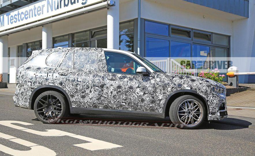 2019 BMW X5 M (spy photo) - Slide 9