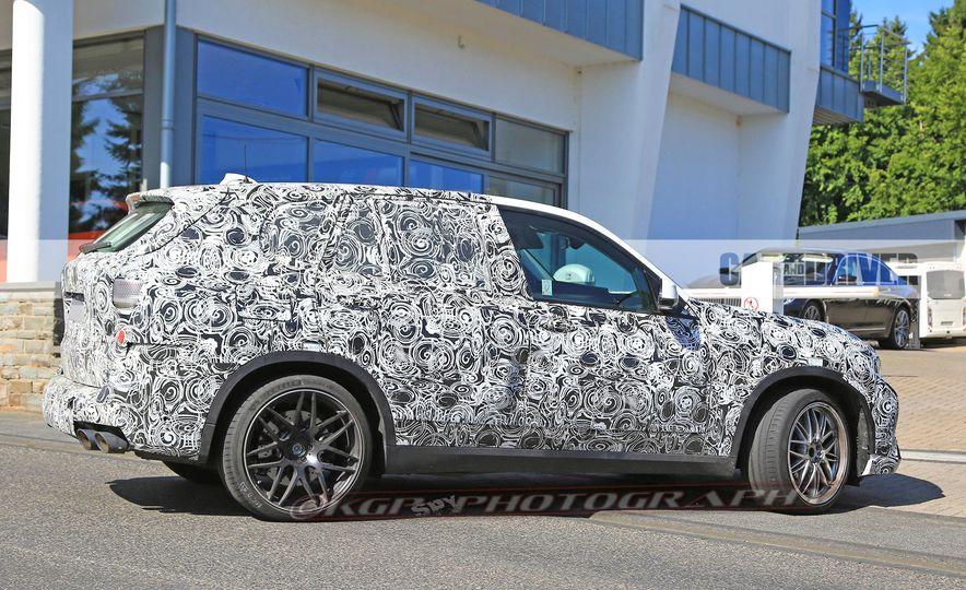 2019 BMW X5 M (spy photo) - Slide 10