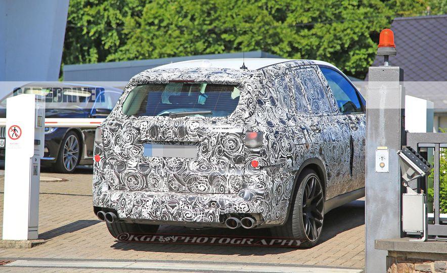 2019 BMW X5 M (spy photo) - Slide 12