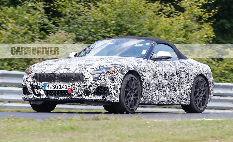 2019 BMW Z5 (spy photo) - Slide 1