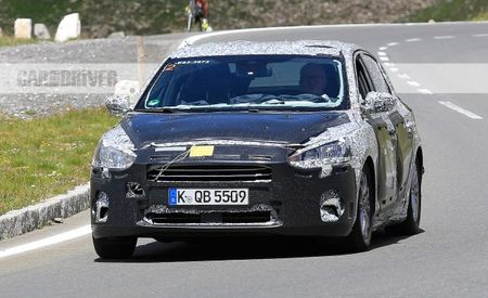 2019 Ford Focus Sedan Spied, Production Shifts to China