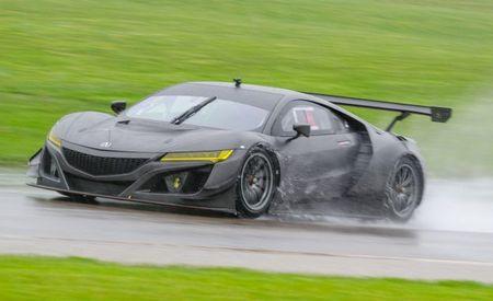 Anybody With $500K Can Buy a Ballistic Nonhybrid Acura NSX GT3 Race Car