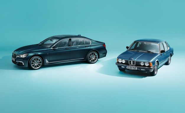 BMW Marks 40 Years of the 7-series with a Special Edition: America Gets 10 Copies