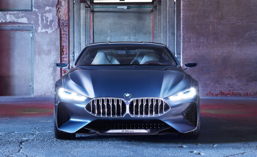 BMW 8-series concept - Slide 4