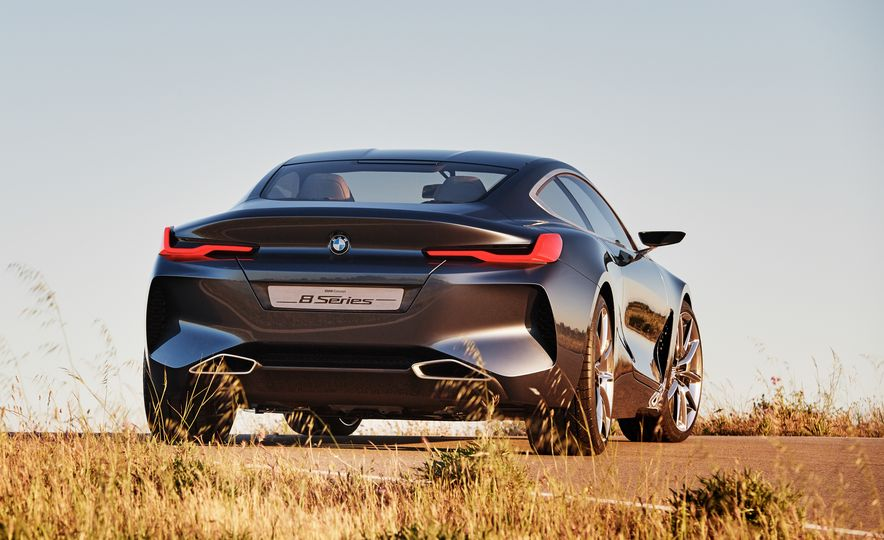 BMW 8-series concept - Slide 19