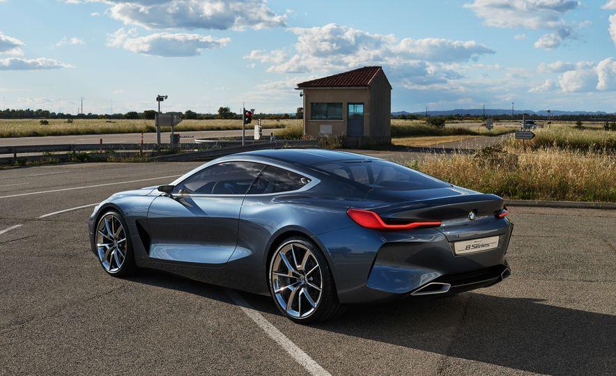 BMW 8-series concept - Slide 20