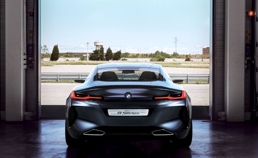 BMW 8-series concept - Slide 25