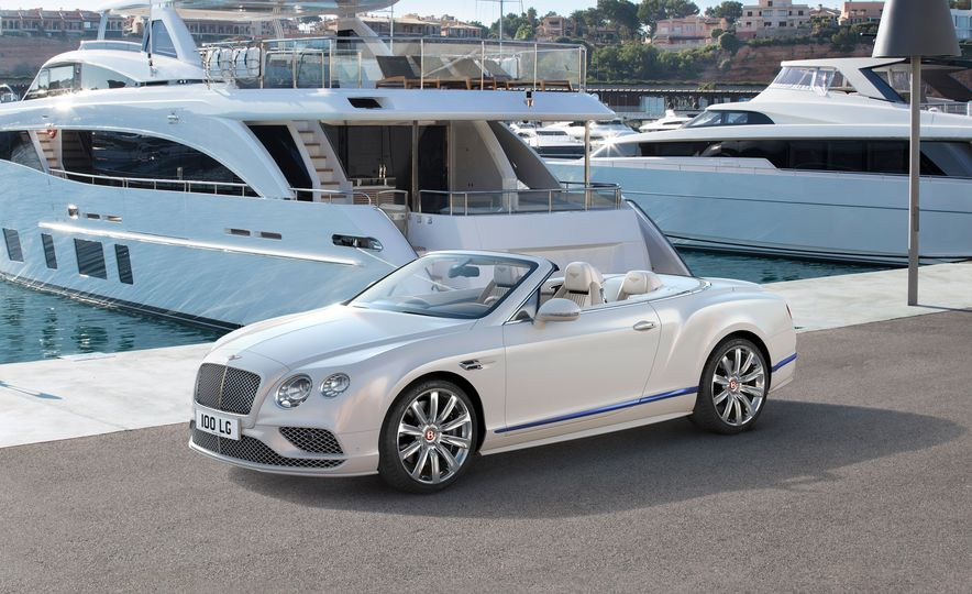 2017 Bentley Continental GT Convertible Galene Edition by Mulliner - Slide 1