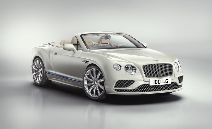 2017 Bentley Continental GT Convertible Galene Edition by Mulliner - Slide 3