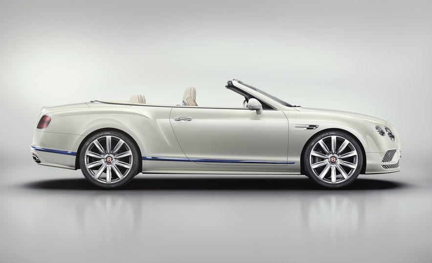 2017 Bentley Continental GT Convertible Galene Edition by Mulliner - Slide 4