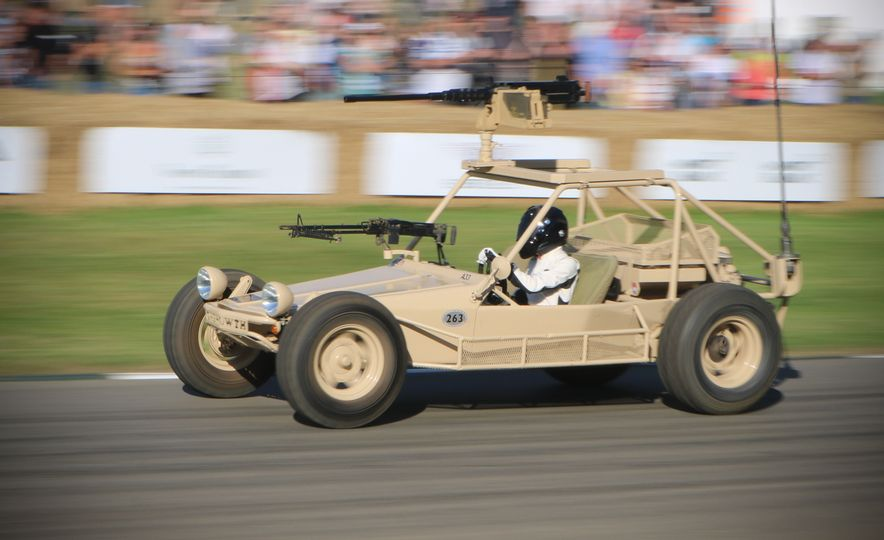 Children of the '80s! Three Full-Size Tamiya R/C Cars Ran the Goodwood Hill-Climb - Slide 9
