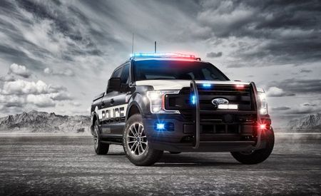 2018 Ford F-150 Now Available as a Pursuit-Rated Cop Truck