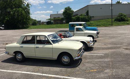 When Nissan Was Still Datsun: We Drive Four Half-Century-Old Datsuns!