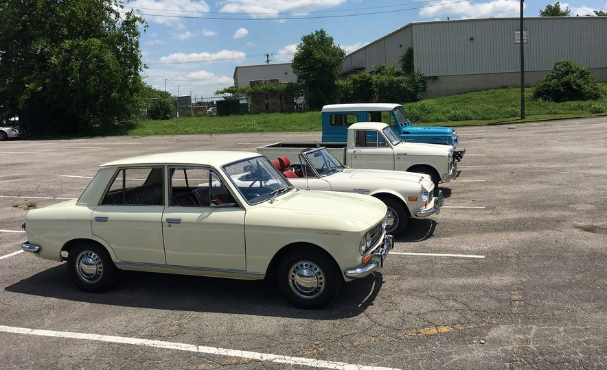 When Nissan Was Still Datsun: We Drive Four Half-Century-Old Datsuns! - Slide 1