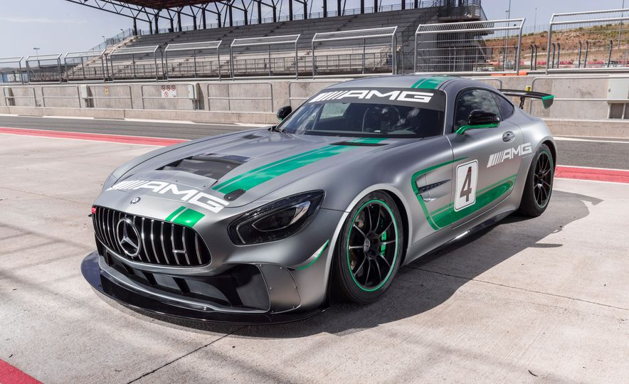 Mercedes-AMG GT4 race car - Slide 4
