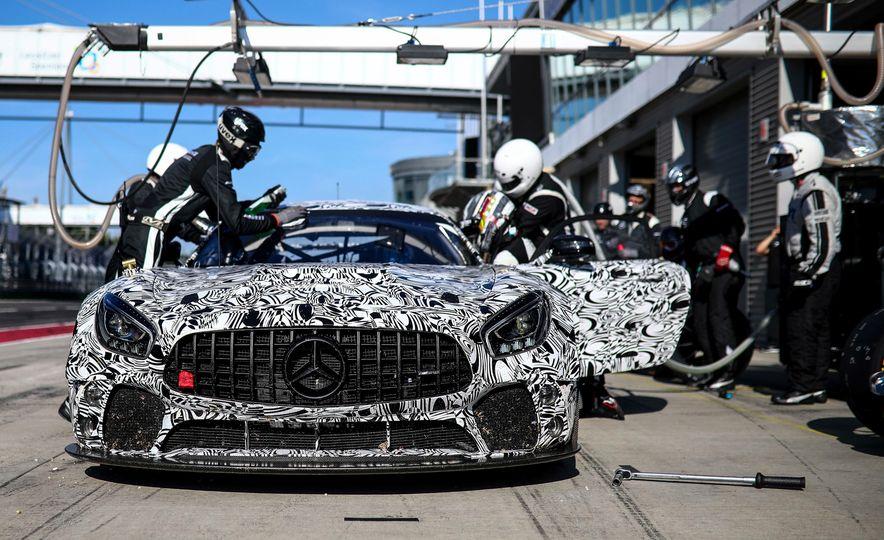 Mercedes-AMG GT4 race car - Slide 11