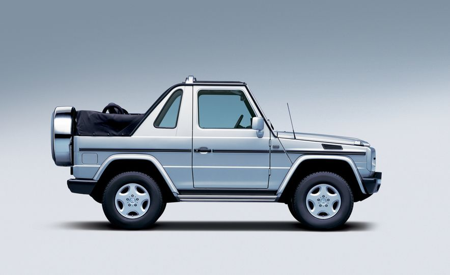 Mercedes-Benz 230 G - Slide 14