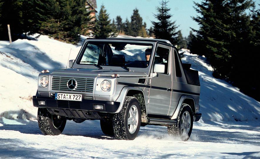 Mercedes-Benz 230 G - Slide 9