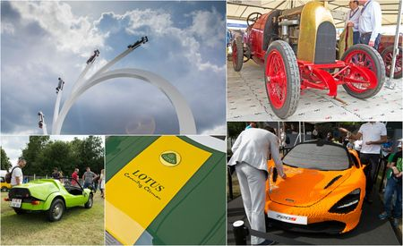 The 10 Best Things We Saw at the 2017 Goodwood Festival of Speed