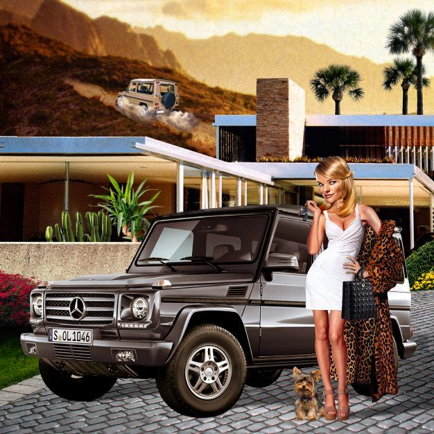 The History Of The Mercedes Benz G Wagen: How A Farm Implement Became
