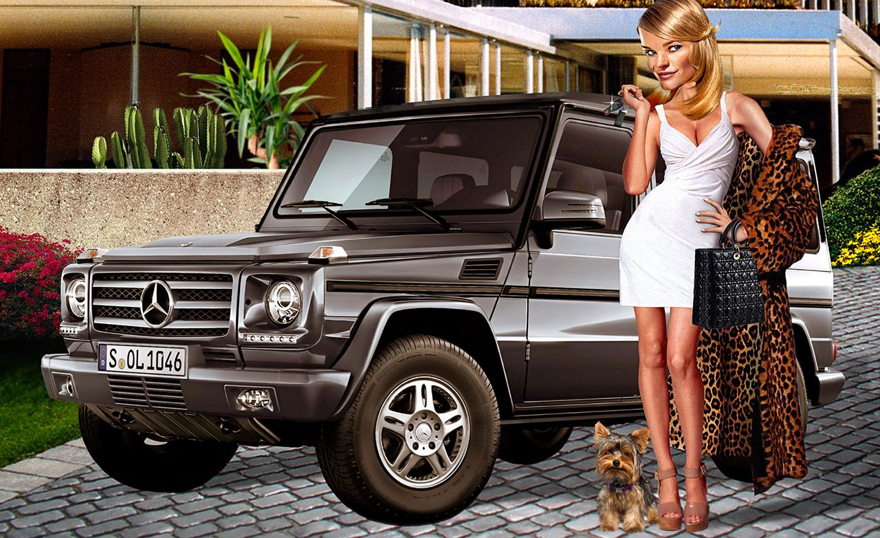 The History Of The Mercedes Benz G Wagen Feature Car And Driver