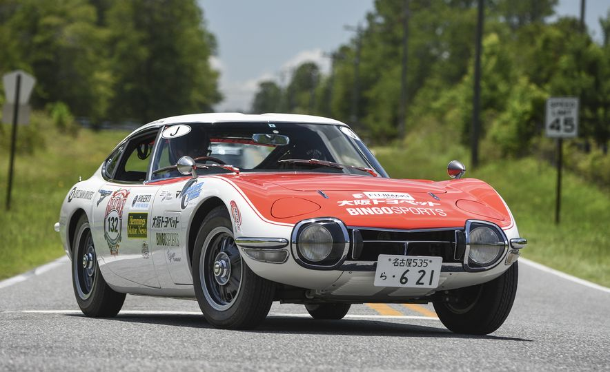 Go Out and Play: Museum-Eligible Vintage Cars That Race Cross-Country Instead - Slide 9