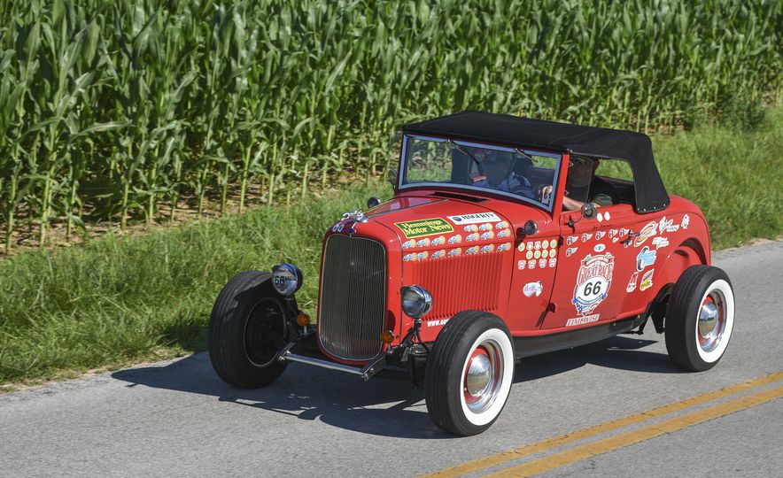 Go Out and Play: Museum-Eligible Vintage Cars That Race Cross-Country Instead - Slide 5