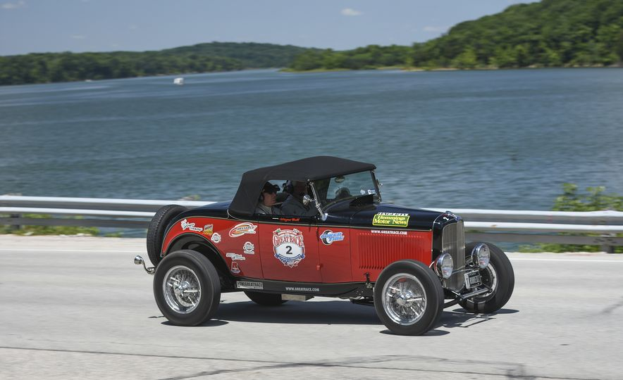 Go Out and Play: Museum-Eligible Vintage Cars That Race Cross-Country Instead - Slide 17