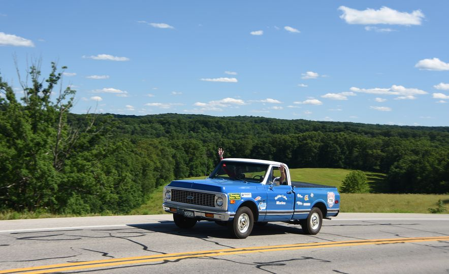 Go Out and Play: Museum-Eligible Vintage Cars That Race Cross-Country Instead - Slide 24