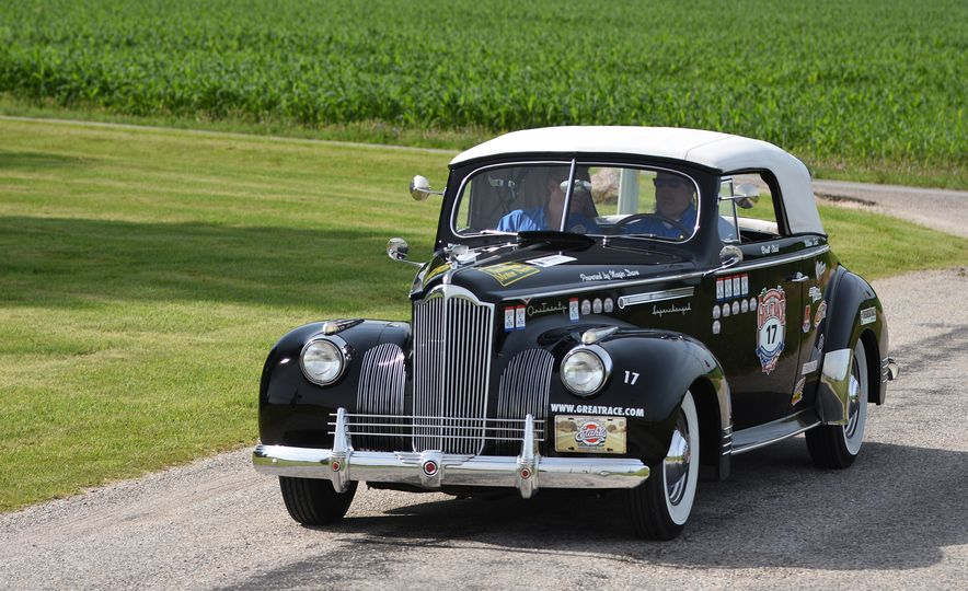 Go Out and Play: Museum-Eligible Vintage Cars That Race Cross-Country Instead - Slide 12