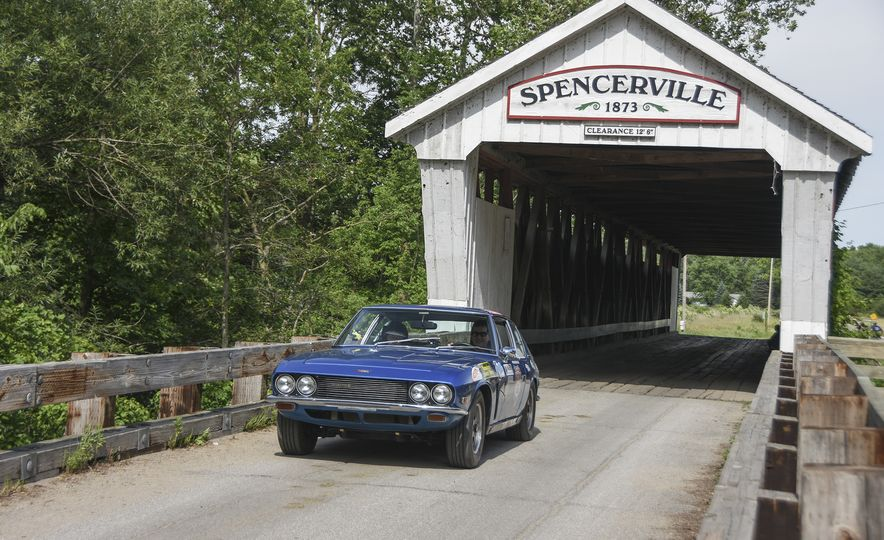 Go Out and Play: Museum-Eligible Vintage Cars That Race Cross-Country Instead - Slide 26