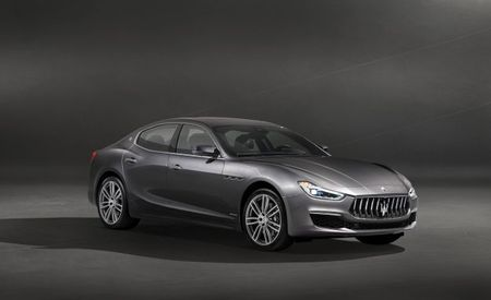 Lucky Lusso: Maserati Shows Off Facelifted Ghibli GranLusso
