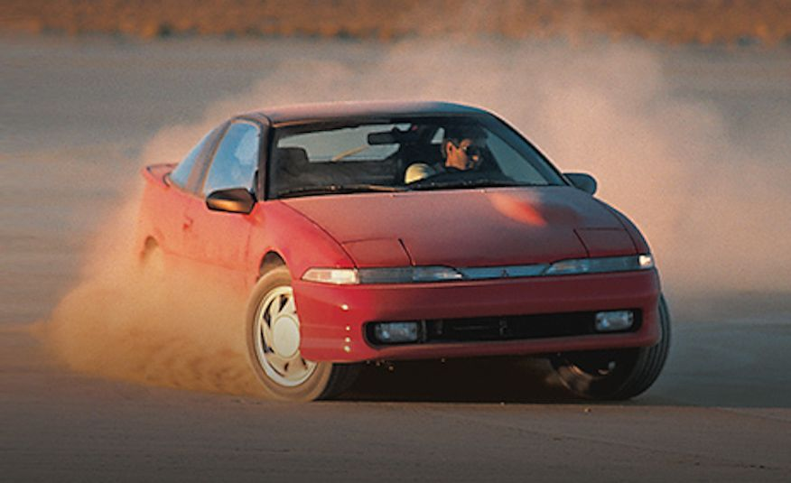 Total Eclipse of the Mitsubishi: A Turn around the History of the Ill-Starred Sports Coupe - Slide 3