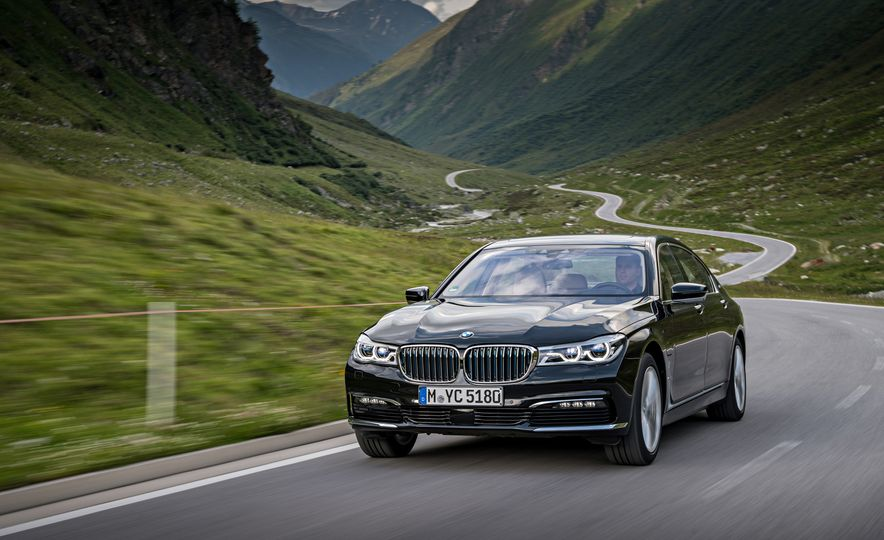 2017 BMW 740Le (Euro-spec) - Slide 6