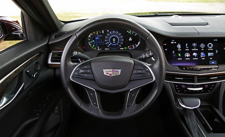 2017 Cadillac CT6 PHEV - Slide 35